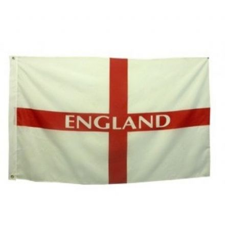 England Flag with Brass Eyelets
